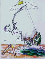 Graffito FISHING