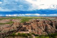 Storm on Badlands Horizon