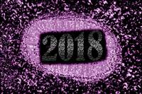 2018 abstract purple background
