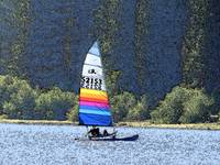sailboat double lake