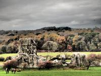 OGMORE CASTLE, VALE OF GLAMORGAN SOUTH WALES