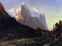 Worthington Whittredge The Wetterhorn