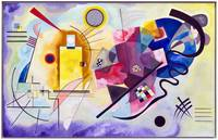 Vasily Kandinsky Yellow-Red-Blue
