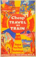 Vintage Cheap Travel by Train New Zealand Holidays