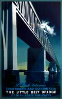 Vintage Great Britain and Scandinavia Bridge Trave