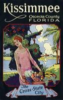 Vintage Kissimmee Osceola County Florida Travel