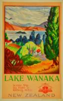 Vintage Lake Wanaka New Zealand Travel