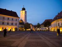 Evening In Sibiu's Grand Square