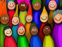 Diverse Happy People