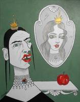 A Queen, Her Mirror & an Apple
