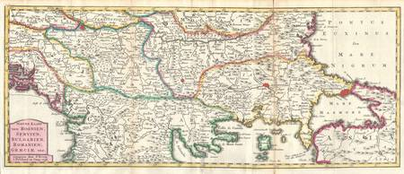 1738_Ratelband_Map_of_the_Balkans_(_Bosnia,_Serbia