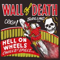 Vintage Motorcycle Wall of Death
