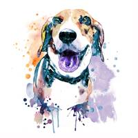 Beagle_watercolor