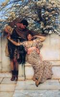 Sir Lawrence Alma-Tadema Art Framed Print