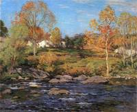 Willard Leroy Metcalf Art Framed Print