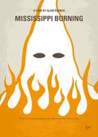 No882 My Mississippi burning minimal movie poster
