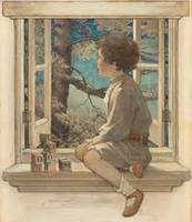 Jessie Willcox Smith Art Framed Print