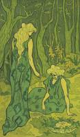 Paul Ranson Art Framed Print