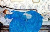 Frederick Carl Frieseke Art Framed Print