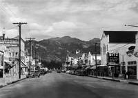 Main Street in Calistoga c1940
