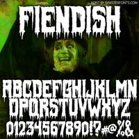 Fiendish-Font-by-Chad-Savage_-_SinisterFonts