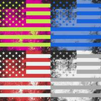 American Flag Pop Art