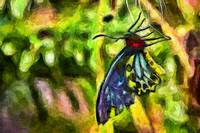 Brush Stroke Butterfly