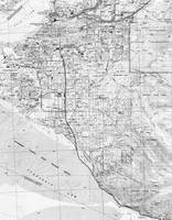 Anchorage Alaska Map (1994) BW
