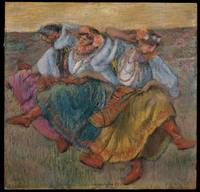 Russian Dancers , Edgar Degas