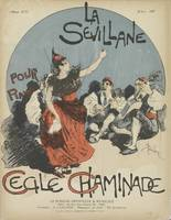 Sheet music La Sevillane by Cécile Chaminade Théop