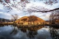 royal mounds reflection