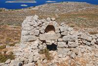 Derelict chapel on Halki island