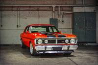 Red XY Ford Falcon GTHO