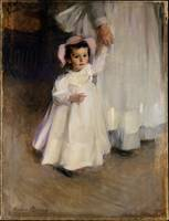 Ernesta (Child with Nurse) , Cecilia Beaux