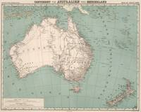 Vintage Topographic Map of Australia (1868)