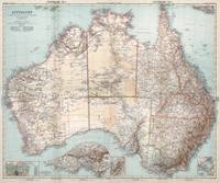 Australian Topography Map (1911)