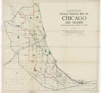 Vintage Map of The Chicago Railroads (1906)