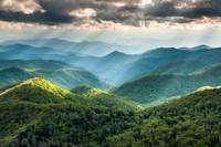 Southern Appalachian Blue Ridge Mountains