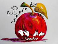 ASL Apple for the Teacher