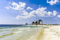 Gulf Shores AL Beach Seascape 1746A