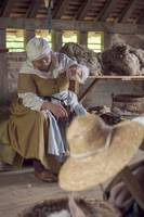 Tudor wool worker