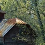 """""""Clipped Barn Roof in Spring"""" by timseaver"""