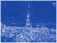 Archtectural Blueprint Drawing - San Francisco, Un