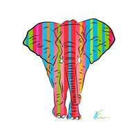 Elephant | Pop Art