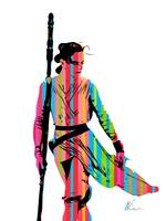 Rey - Star wars - Pop Art