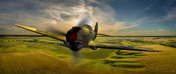 P40GoingHomeAtSunset