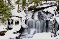 Wintry Wagner Falls