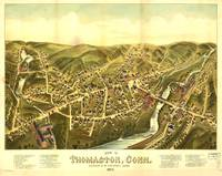 Aerial View of Thomaston, Connecticut (1879)