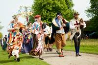 Tudor May Day celebrations