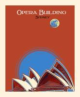 Opera Building in Sydney Poster by Adam Asar 2